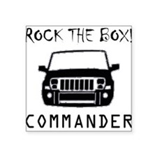 "Cute Off road Square Sticker 3"" x 3"""