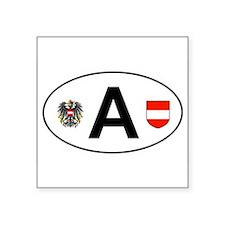 """Cute Salzburg Square Sticker 3"""" x 3"""""""