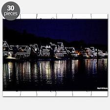 Philadelphia Boathouse Row, Nightview Puzzle