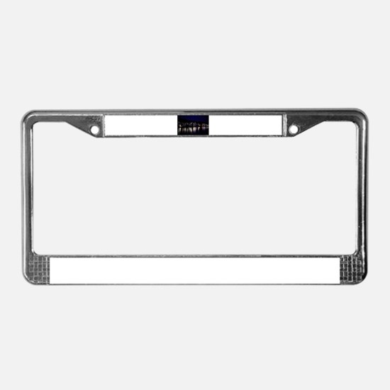 Philadelphia Boathouse Row, Ni License Plate Frame