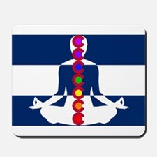 Colorado Chakra Meditation Mousepad