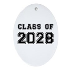 Class of 2028 Ornament (Oval)