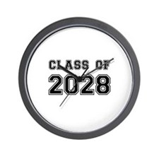 Class of 2028 Wall Clock