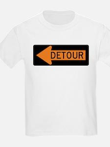Detour Left T-Shirt