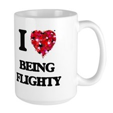 I Love Being Flighty Mugs