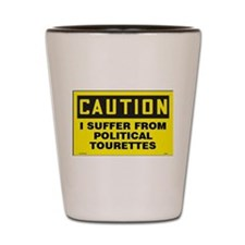 PTourettes Shot Glass
