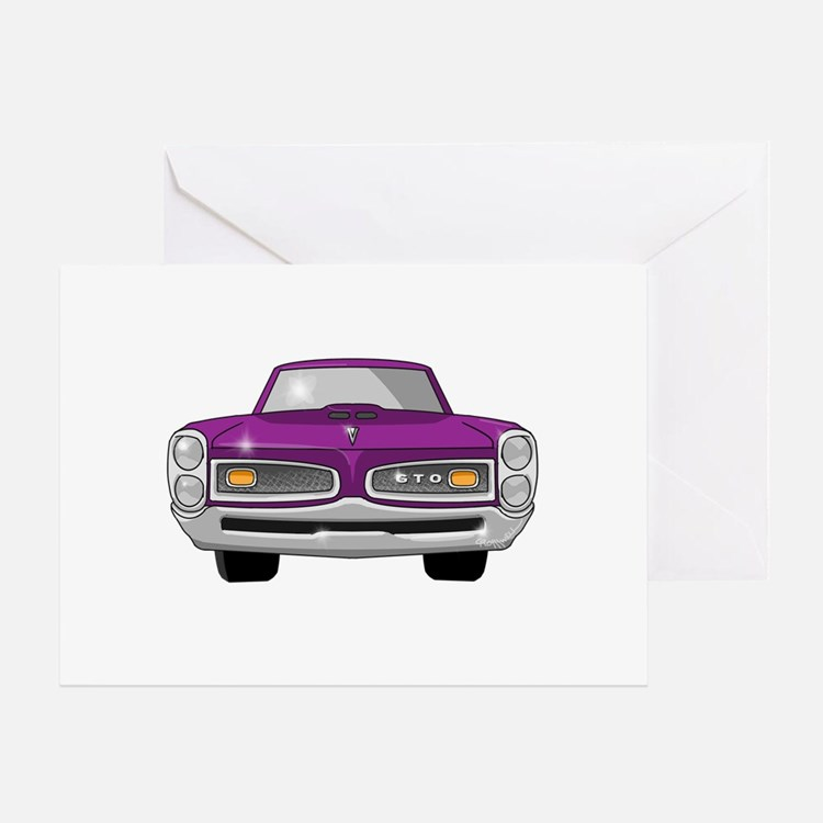 1966 GTO Greeting Card