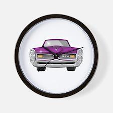 1966 GTO Wall Clock