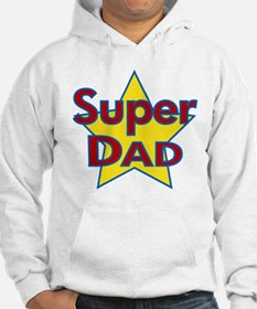 Fathers Day Super Dad with Star.png Hoodie