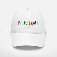 Pickleball Letters Baseball Baseball Cap