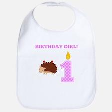 Birthday Girl Porcupine Bib