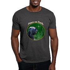Black Russian Peace T-Shirt