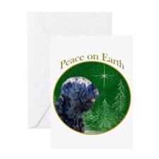 Black Russian Peace Greeting Card