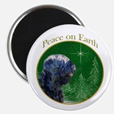 Black Russian Peace Magnet