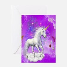 Funny Unicorn Greeting Card