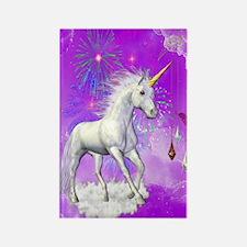 Funny Unicorn Rectangle Magnet