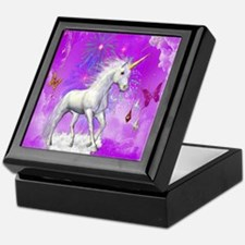 Unique Unicorns Keepsake Box