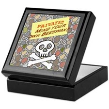 Mind your own Beeswax Keepsake Box