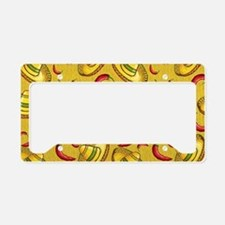 Food and Festivities License Plate Holder