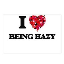 I Love Being Hazy Postcards (Package of 8)