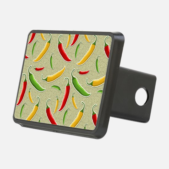 Raining Peppers Hitch Cover