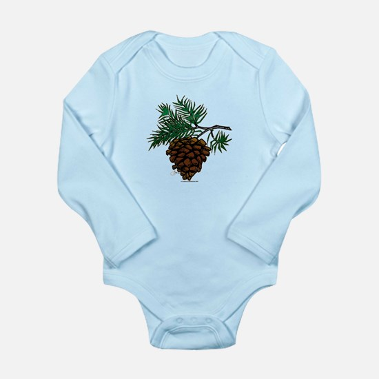 NEW! Fir Limb Long Sleeve Infant Bodysuit