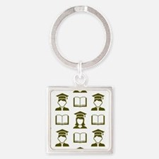 Graduating Class Square Keychain