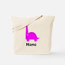 Pink Dinosaur (p) Tote Bag