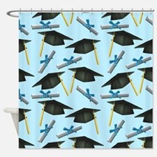 Caps and Diplomas Shower Curtain