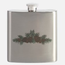 NEW! Pine Cluster Flask