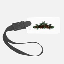 NEW! Pine Cluster Luggage Tag