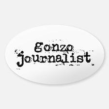 gonzo journalist Decal
