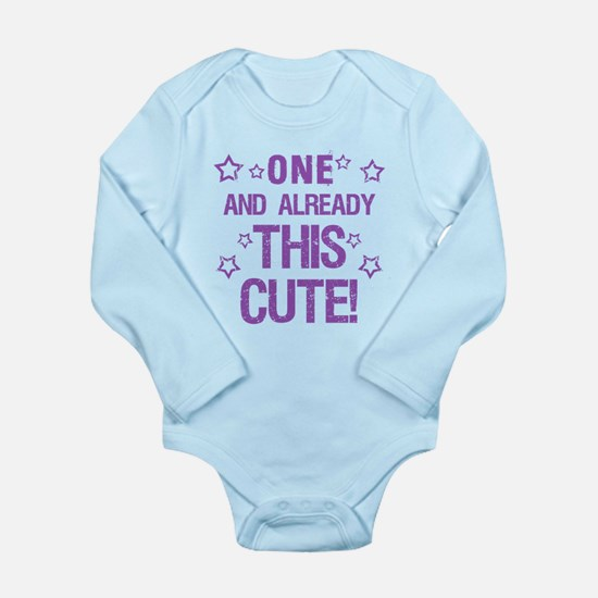 Cute 1st Birthday Body Suit