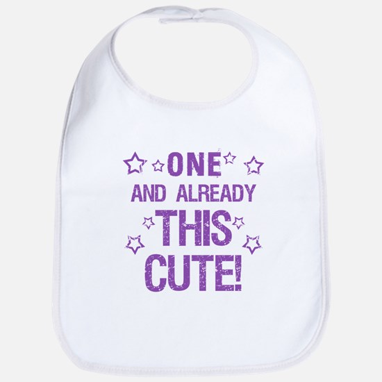Cute 1st Birthday Bib