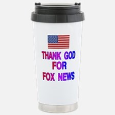 Unique Fox news Travel Mug