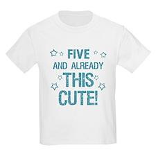 Cute 5th Birthday T-Shirt