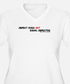Birth Defect does NOT mean Defective Plus Size T-S