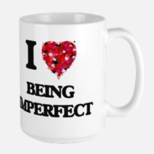 I Love Being Imperfect Mugs