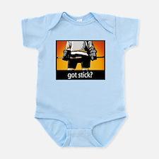 Got Stick? Hockey Infant Bodysuit