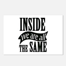 Inside We Are All The Sam Postcards (Package of 8)