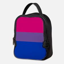 Bisexual Pride Flag Neoprene Lunch Bag