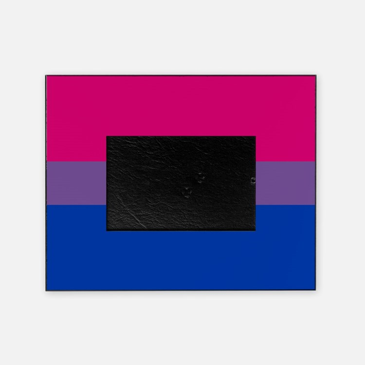 Bisexual Pride Flag Picture Frame