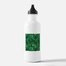 Malachite Water Bottle