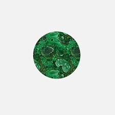 Malachite Mini Button