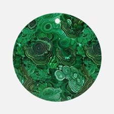 Malachite Ornament (Round)