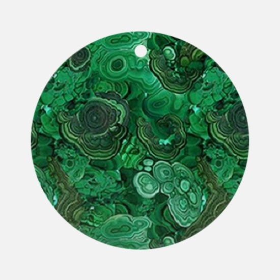 Malachite Ornament (Round)