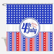 4th July Shower Curtain