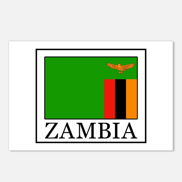 Zambia Postcards (Package of 8)
