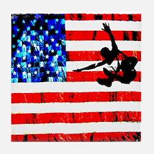 PARKOUR USA Tile Coaster