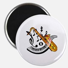 Funny Sax Magnet